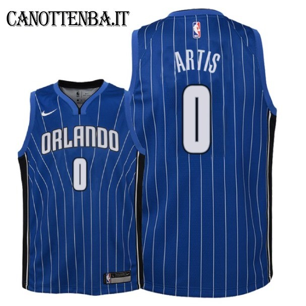 Maglia NBA Bambino Orlando Magic NO.0 Jamel Artis Azul Icon 2018