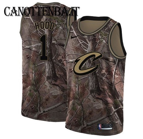 Maglia NBA Cleveland Cavaliers NO.1 Rodney Hood Camo Swingman Realtree Collection 2018