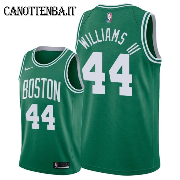 Maglia NBA Nike Boston Celtics NO.44 Robert Williams III Verde Icon 2018-19