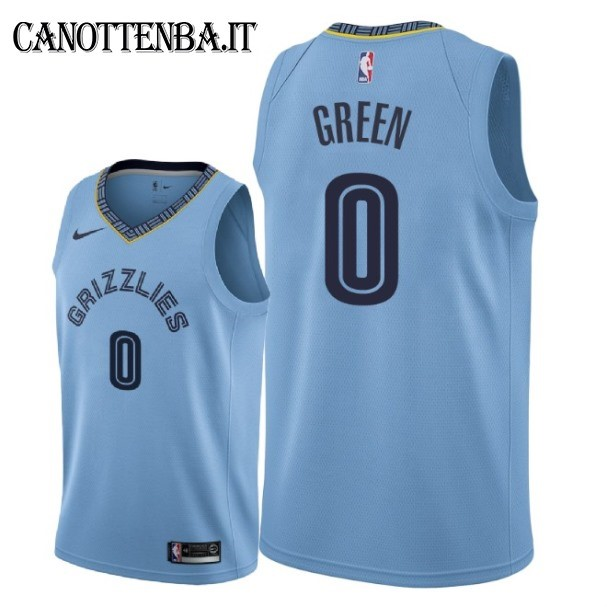 Maglia NBA Nike Memphis Grizzlies NO.0 JaMychal Green Azul Statement 2018-19