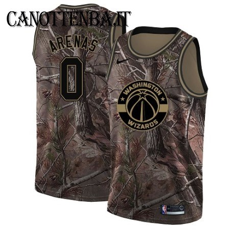 Maglia NBA Washington Wizards NO.0 Gilbert Arenas Camo Swingman Realtree Collection 2018