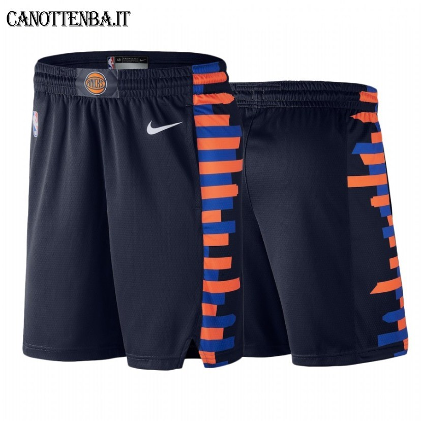Pantaloni Basket New York Knicks Nike Marino