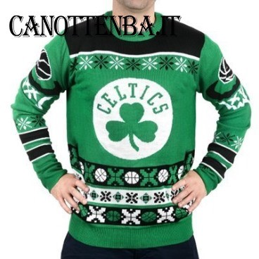 NBA Maglione Ugly Unisex Boston Celtics Verde