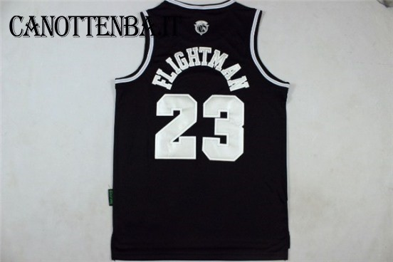 Maglia NBA Chicago Bulls NO.23 Michael Jordan SuperUomo Nero