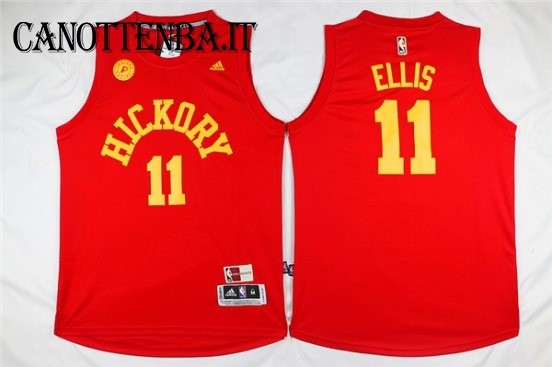 Maglia NBA Indiana Pacers NO.11 Monta Ellis Rosso