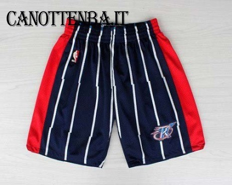 Pantaloni Basket Houston Rockets Azul