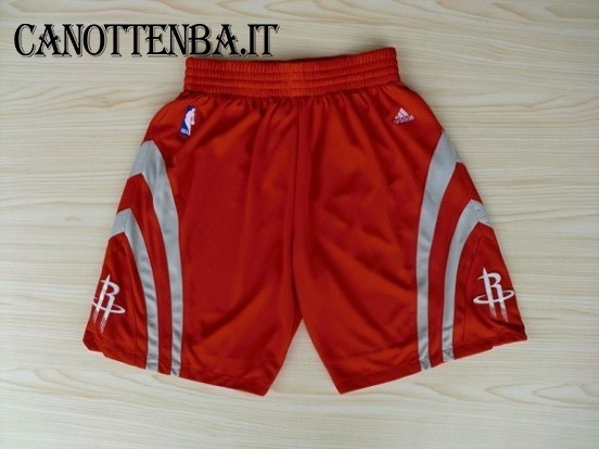 Pantaloni Basket Houston Rockets Rosso