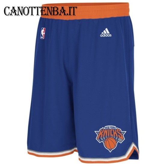 Pantaloni Basket New York Knicks Azul